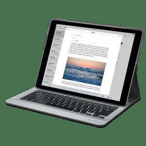 Клавиатура Logitech CREATE Backlit для iPad Pro – Черная