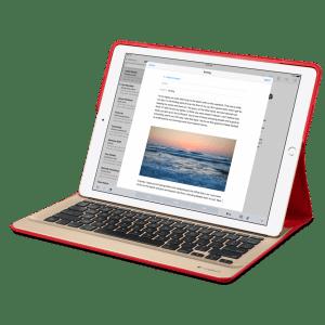 Клавиатура Logitech CREATE Backlit для iPad Pro – Красная