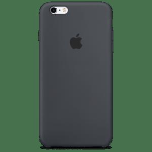 Угольно-серый силиконовый чехол для iPhone 6/6s Plus