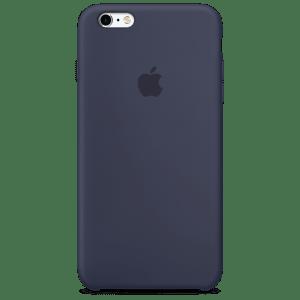 Тёмно-синий силиконовый чехол для iPhone 6/6s Plus