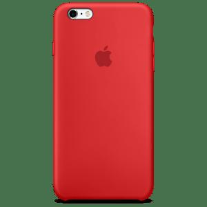 RED силиконовый чехол для iPhone 6/6s Plus