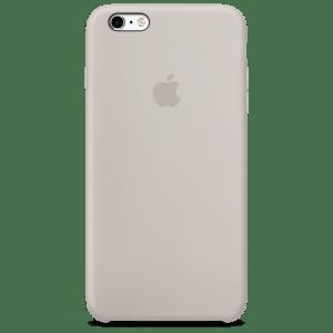 Бежевый силиконовый чехол для iPhone 6/6s Plus