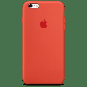 Оранжевый силиконовый чехол для iPhone 6/6s Plus