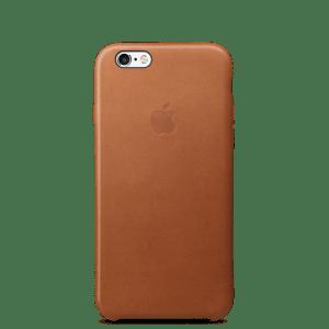 Золотисто-коричневый кожаный чехол для iPhone 7/7s