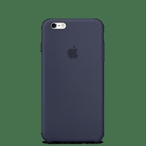 Тёмно-синий силиконовый чехол для iPhone 6/6s