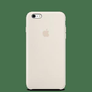 Мраморно-белый силиконовый чехол для iPhone 6/6s