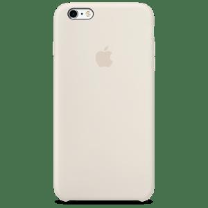 Мраморно-белый силиконовый чехол для iPhone 6/6s Plus