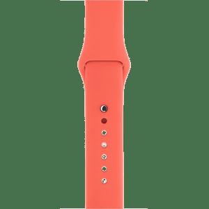 Спортивный ремешок абрикосового цвета 38 мм