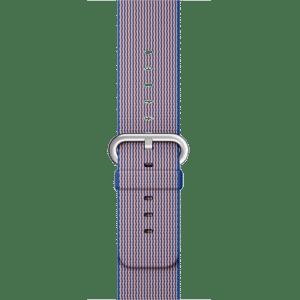 Ремешок из плетёного нейлона цвета «кобальт», 38 мм