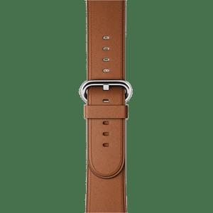 Ремешок золотисто‑коричневого цвета с классической пряжкой 38 мм