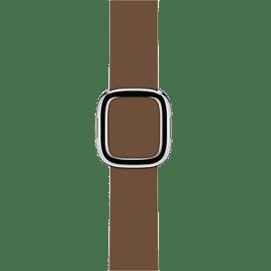 Ремешок коричневого цвета с современной пряжкой, 38 мм средний
