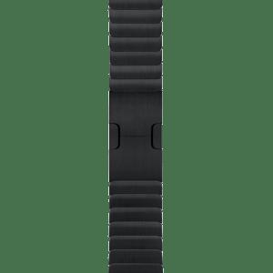"""Блочный браслет цвета """"чёрный космос"""" 38 мм"""