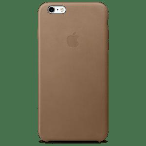 Коричневый кожаный чехол для iPhone 7/7s Plus