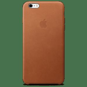 Золотисто-коричневый кожаный чехол для iPhone 7/7s Plus