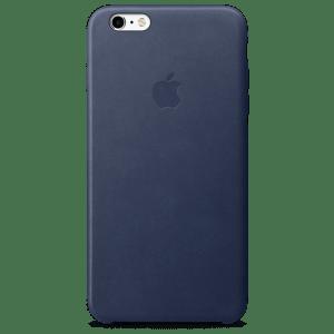 Тёмно-синий кожаный чехол для iPhone 7/7s Plus