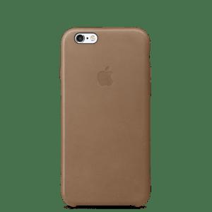 Коричневый кожаный чехол для iPhone 7/7s