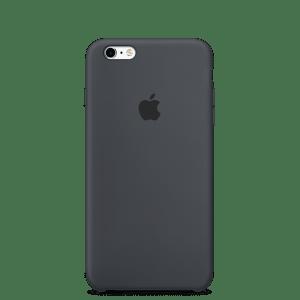 Угольно-серый силиконовый чехол для iPhone 6/6s
