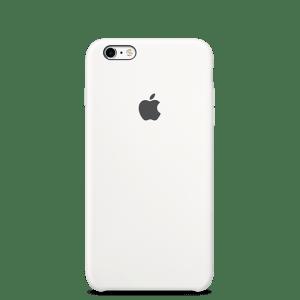 Белый силиконовый чехол для iPhone 6/6s
