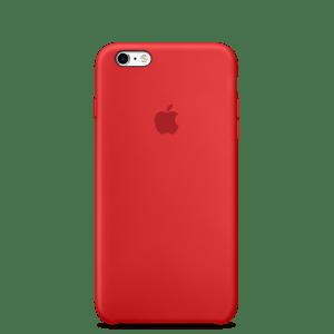 RED силиконовый чехол для iPhone 6/6s