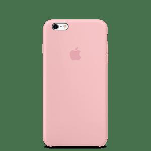 Розовый силиконовый чехол для iPhone 6/6s