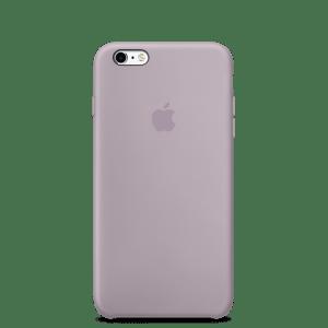 Сиреневый силиконовый чехол для iPhone 6/6s