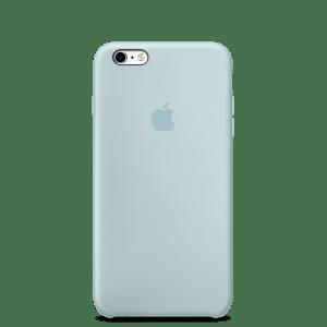 Бирюзовый силиконовый чехол для iPhone 6/6s