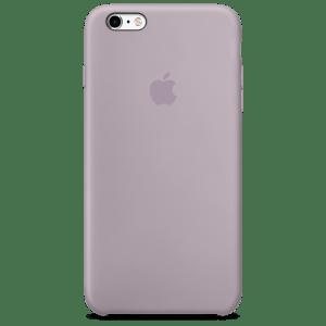 Сиреневый силиконовый чехол для iPhone 6/6s Plus