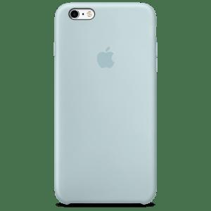 Бирюзовый силиконовый чехол для iPhone 6/6s Plus