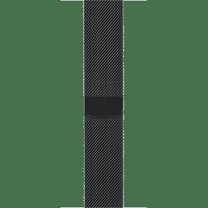 Миланский сетчатый браслет цвета «чёрный космос» 38 мм