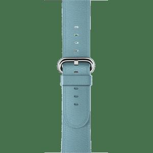 Ремешок цвета «полярная лазурь» с классической пряжкой 38 мм